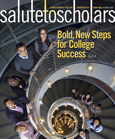 Salute to Scholars winter 2015 cover