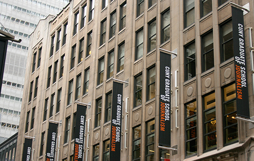 CUNY Graduate School of Journalism building