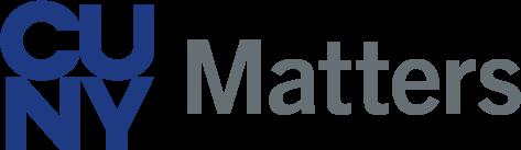 CUNY Matters logo