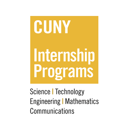 Yellow CUNY Internship Programs Logo