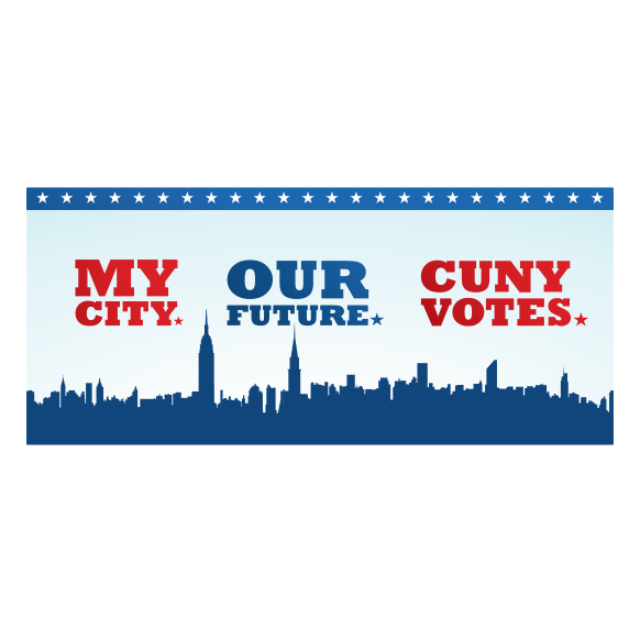 CUNY Votes Banner