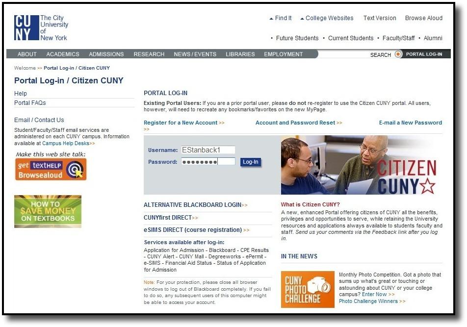 Citizen-Portal-Login