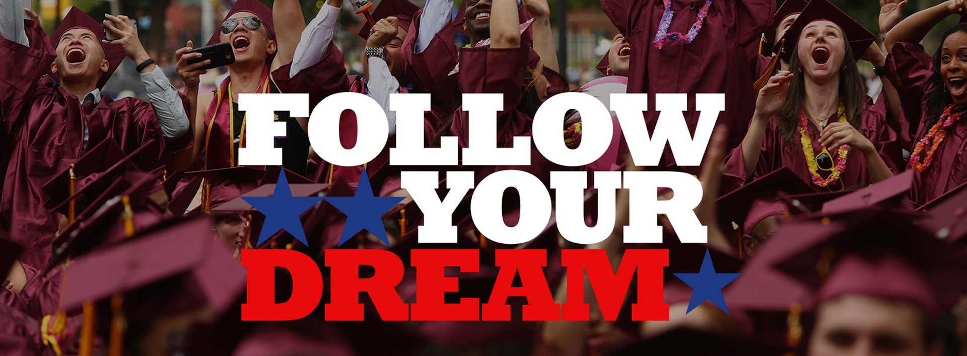 FOLLOW YOUR DREAM graphic