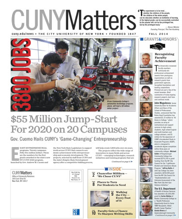 CUNY Matters cover