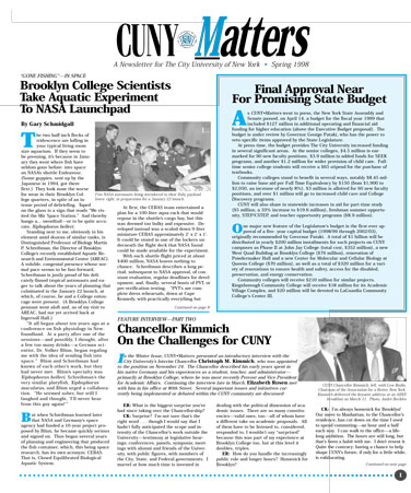 CUNY Matters Spring 1998 cover
