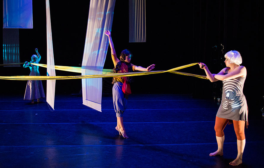 Under the Tangle Labyrinth, Chrylynn Tsushima, CUNY Dance Initiative