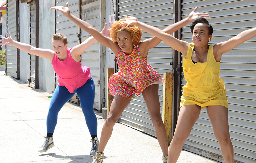 Sydnie Mosley Dancers, CUNY Dance Initiative