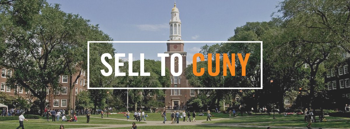 Sell to CUNY