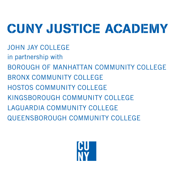CUNY Justice Academy Logo, JOHN JAY COLLEGE logo