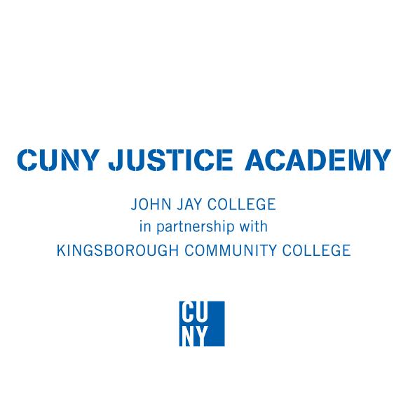 CUNY Justice Academy Logo (KCC)