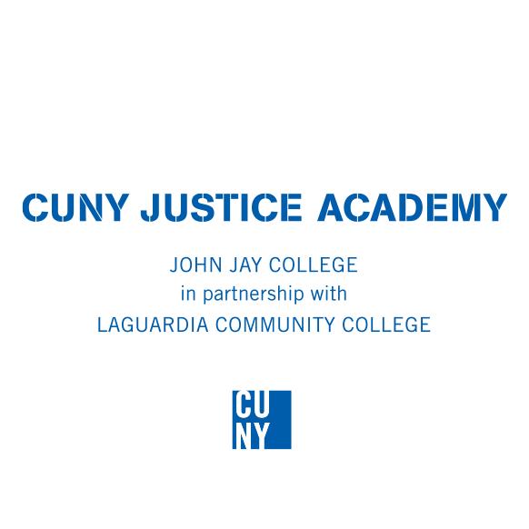 CUNY Justice Academy Logo (LCC)