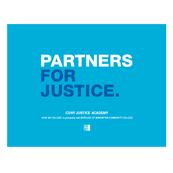 CUNY Justice Academy Branding Guide COVER