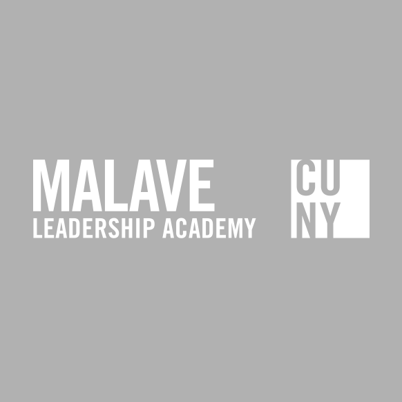 MALAVE LEADERSHIP ACADEMYPrimary Logo Gray with CUNY Logosquare