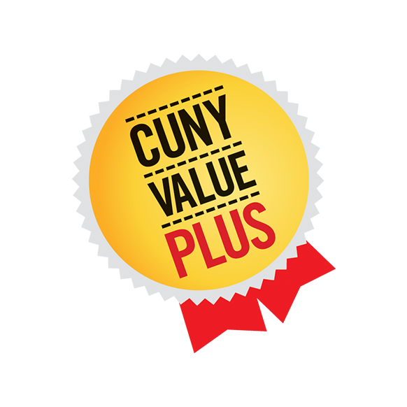 CUNY VALUE PLUS graphic
