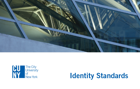 CUNY Identity Standards graphic