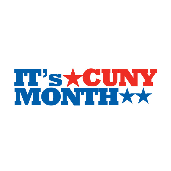 It's CUNYMONTH logo 1