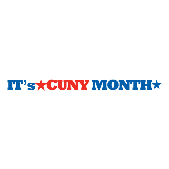 It's CUNYMONTH logo 1 B
