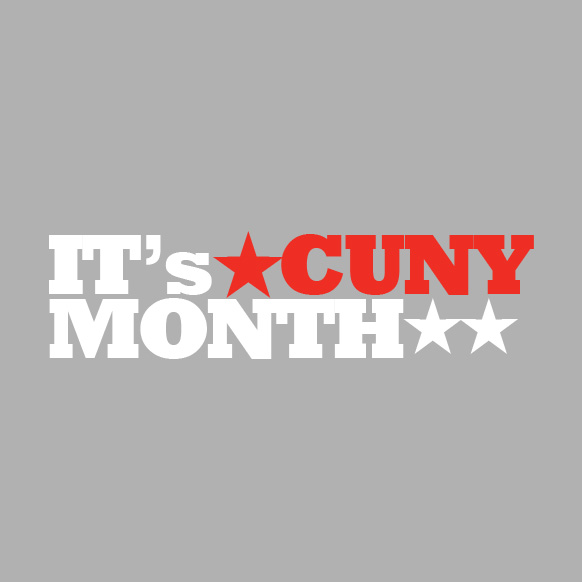 It's CUNYMONTH logo 2