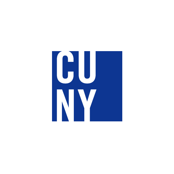 CUNY logo square blue
