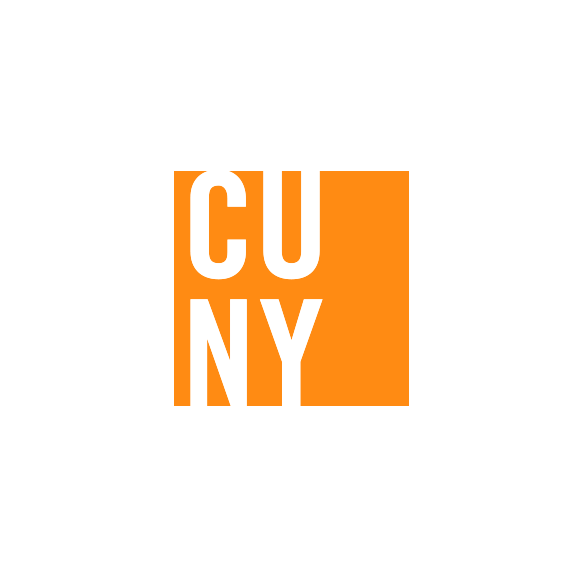 CUNY logo square orange