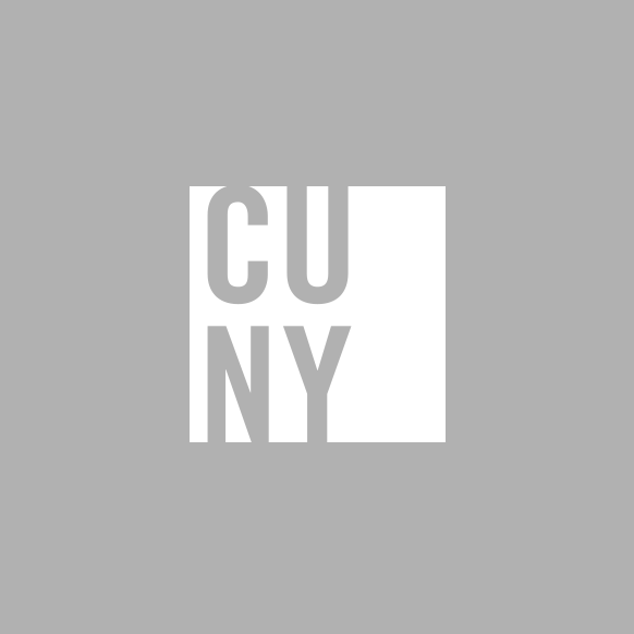 CUNY logo square white