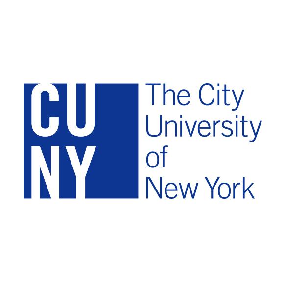 CUNY logo blue