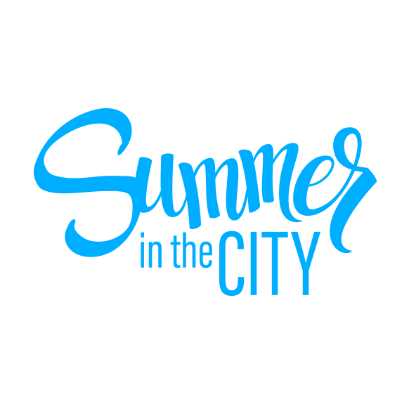 Summer in the CITY logo blue