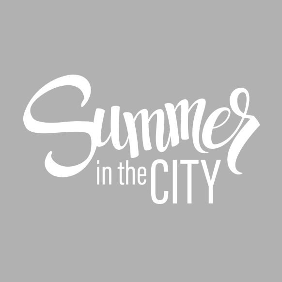 Summer in the CITY logo white