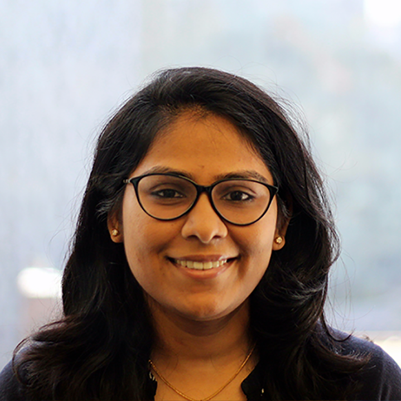 Birunda Chelliah, Research Analyst I, Research and Evaluation Staff