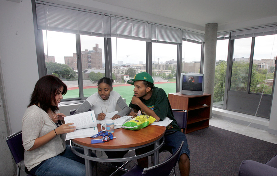 Student in CCNY dorm