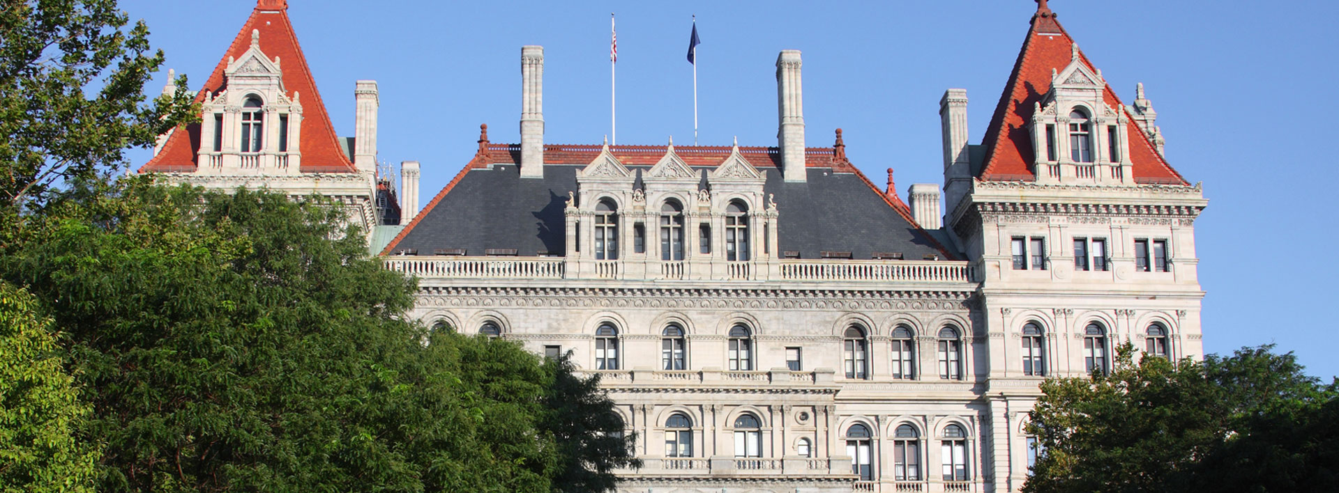 The New York State Capitol, Albany, New York