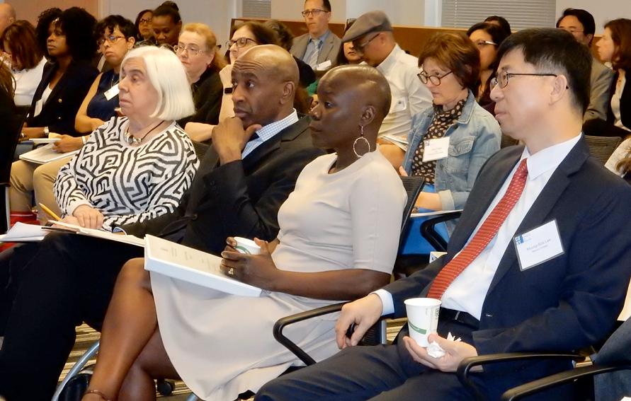 Attendees at the CUNY Faculty Diversity and Inclusion Conference