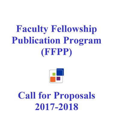 Faculty Fellowship Publication Program (FFPP) graphic