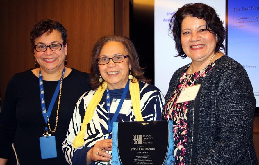 Sylvia Miranda, CUNY Human Resources Diversity Honors and Awards award recipient