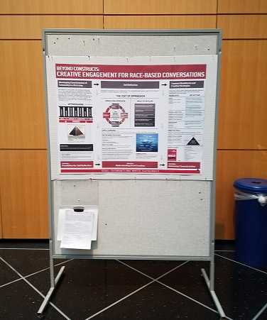 Display at a CUNY Faculty Diversity and Inclusion Conference