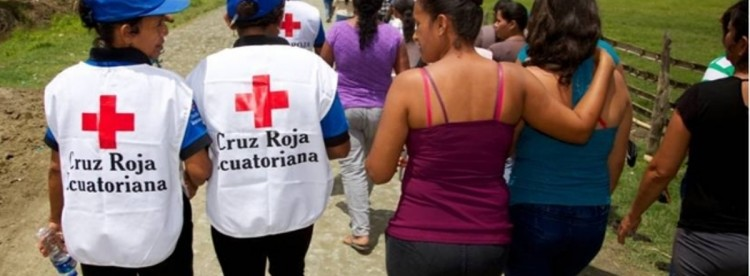 Photo by  American Red Cross