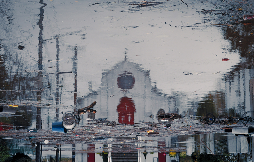Reflections of the Storm by David Rodberg showing Superstorm Sandy aftermath