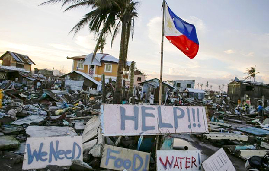 Typhoon Haiyan, Philppines
