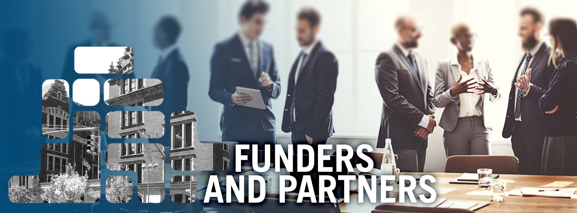 FUNDER AND PARTNERS header