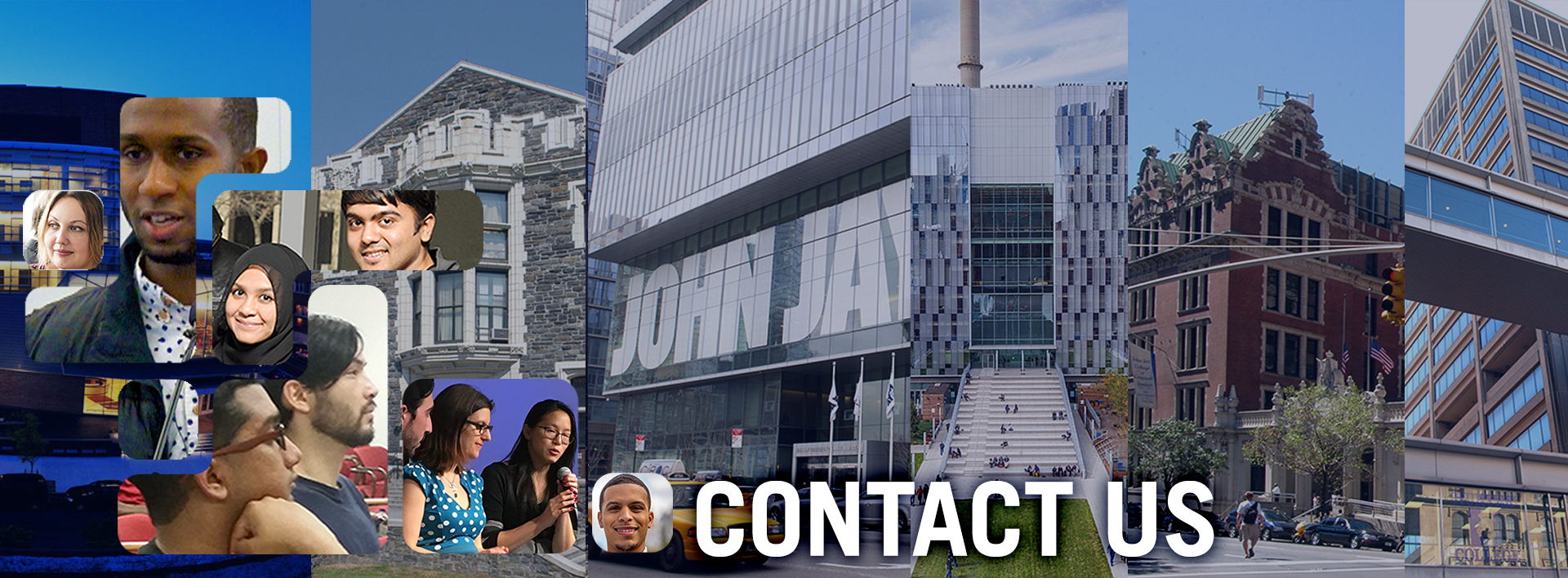 CONTACT US graphic for CUNY Tech Consortium