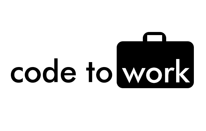 code to work graphic