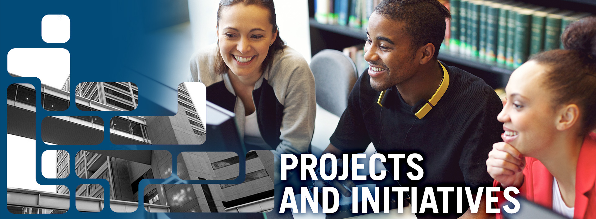 PROJECTS AND INITIATIVES header