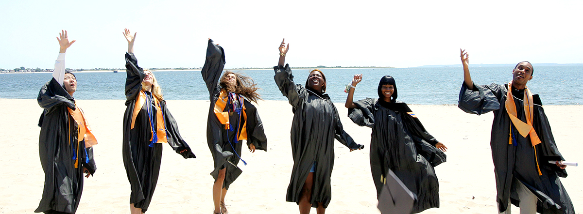 Students at graduation day, Kingsborough Community College