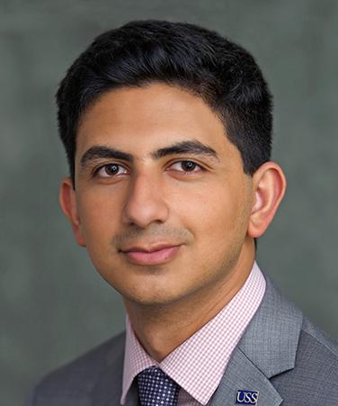 Student trustee Haris Khan (University Student Senate) chair