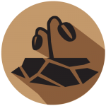 drought safety icon for weather safety and preparedness