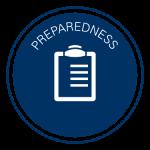 Preparedness icon for the University Emergency Preparedness Program