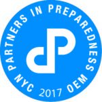 PARTNERS IN PREPAREDNESS NYC 2017 OEM/Office of Emergency Management logo.