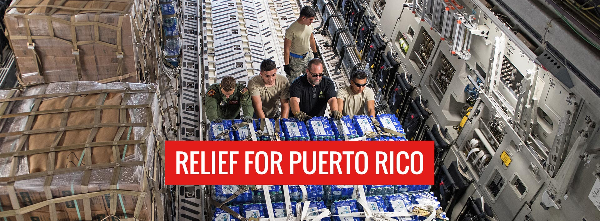 Relief for Puerto Rico, Hurricane Maria relief