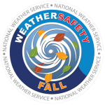 National Weather Service Weather Safety Fall logo