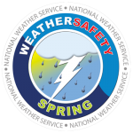 National Weather Service Weather Safety Spring logo